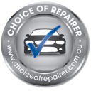 choice of repairer logo